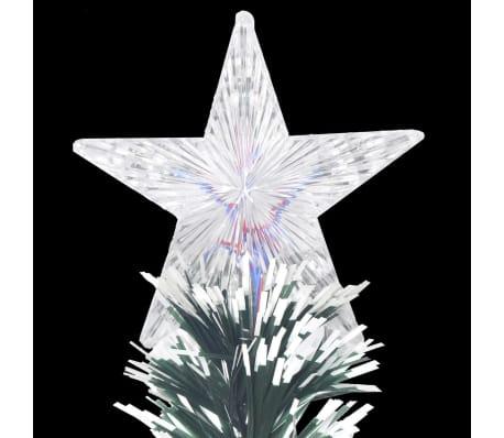 vidaXL Albero di Natale Artificiale con Supporto/LED 180 cm 220 Rami[7/8]