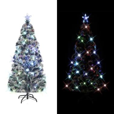 vidaXL Albero di Natale Artificiale con Supporto/LED 180 cm 220 Rami[2/8]