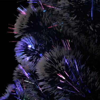vidaXL Kunstkerstboom met standaard/LED 180 cm 220 takken[6/8]