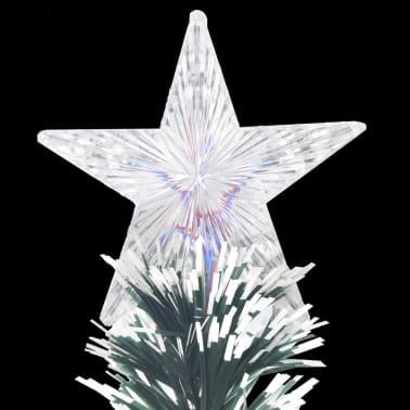 vidaXL Kunstkerstboom met standaard/LED 180 cm 220 takken[7/8]