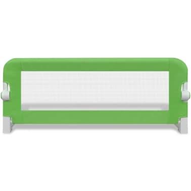 vidaXL Toddler Safety Bed Rail 102 x 42 cm Green[3/5]
