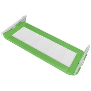 vidaXL Toddler Safety Bed Rail 102 x 42 cm Green[4/5]