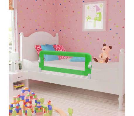 Barandilla de seguridad infantil para la cama color verde 102 x 42 cm - Barandillas seguridad ninos ...