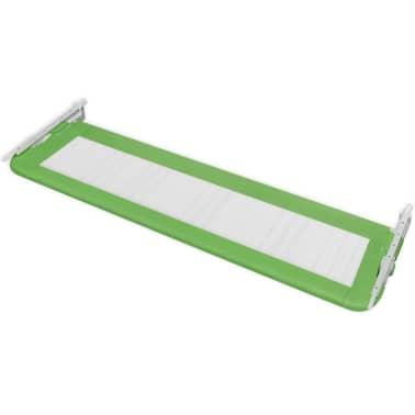 vidaXL Posteljno varovalo za otroke 150 x 42 cm zeleno[4/5]