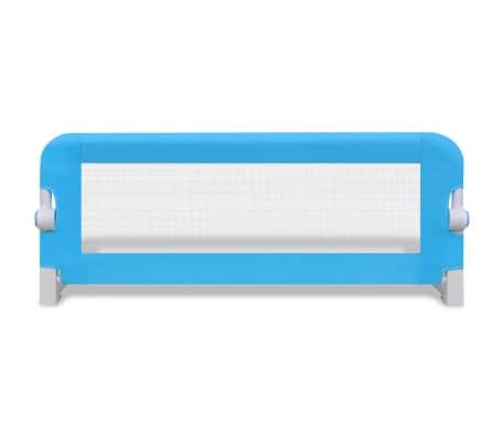 Barandilla de seguridad infantil para la cama color azul 102 x 42 cm - Barandillas seguridad ninos ...