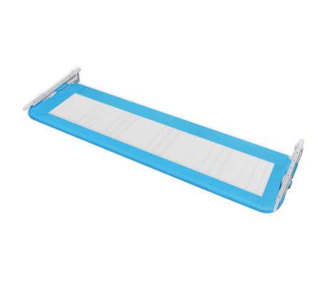 vidaXL Toddler Safety Bed Rail 150 x 42 cm Blue[4/5]