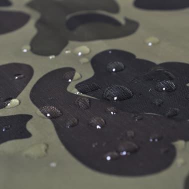 Regenponcho leger waterbestendig voor kamperen/wandelen camouflage[3/4]
