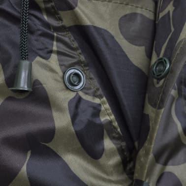 Regenponcho leger waterbestendig voor kamperen/wandelen camouflage[4/4]