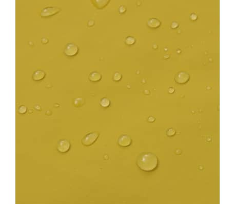 Neperšlampamas ilgas lietpaltis su gobtuvu, geltonas L[4/4]