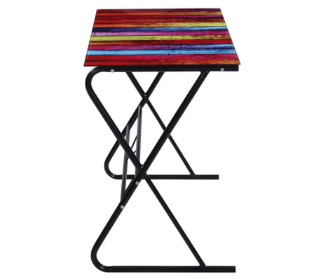 Glass Desk with Rainbow Pattern[3/6]