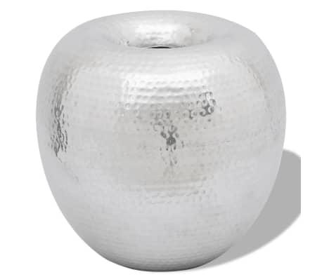 Hammered Aluminum Vintage-Style Decorative Vase[1/4]