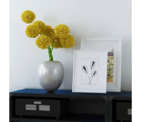 Hammered Aluminum Vintage-Style Decorative Vase[2/4]