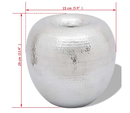 Hammered Aluminum Vintage-Style Decorative Vase[4/4]