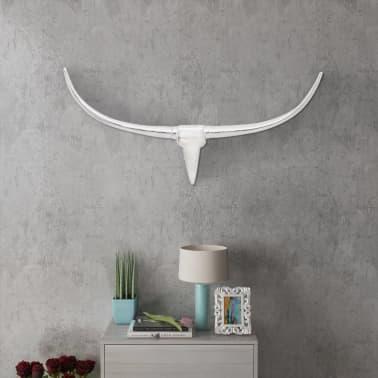 Wall Mounted Aluminum Bull