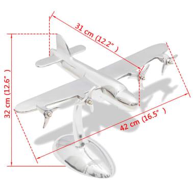 Aluminum Aeroplane Model Desktop Decoration[5/5]