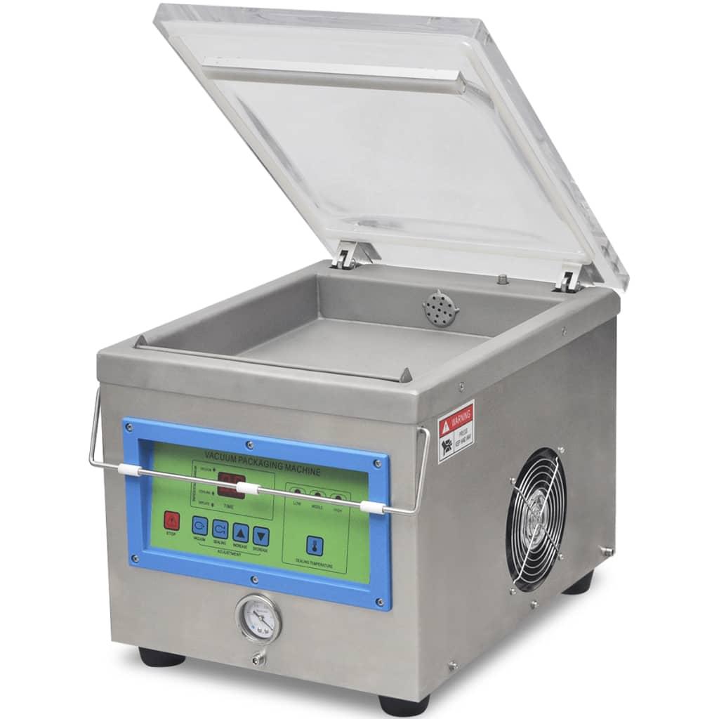 Afbeelding van vidaXL Vacuümverpakkingsmachine/sealer professioneel roestvrij staal 350 W