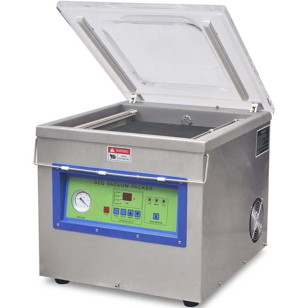 Afbeelding van vidaXL Vacuümverpakkingsmachine/sealer professioneel roestvrij staal 750 W