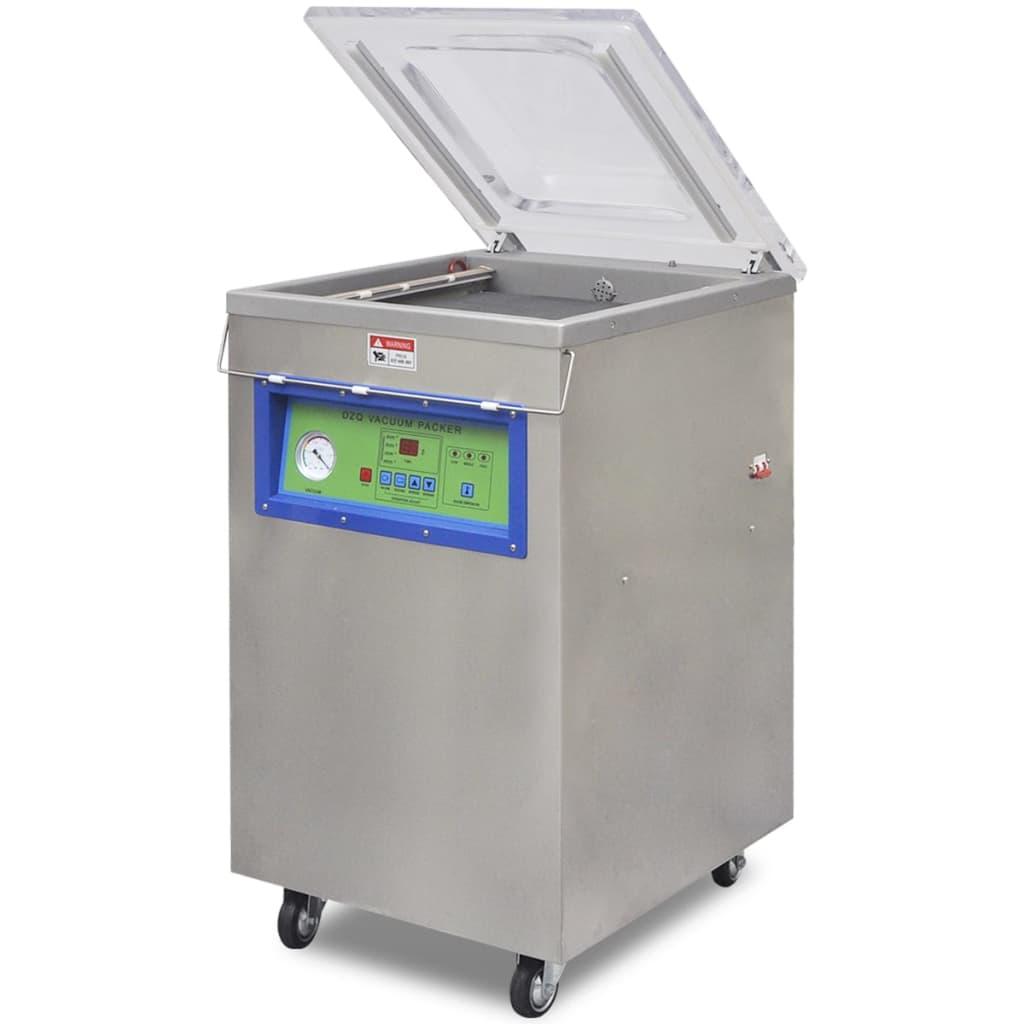 vidaXL Machine à emballer sous vide à aspiration / selleur en acier inoxydable