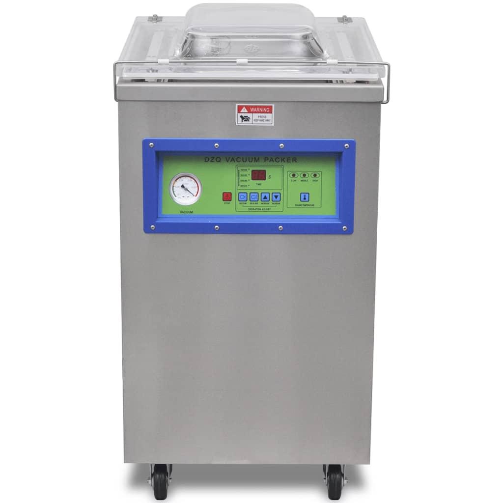 vidaXL Machine à emballer sous vide à aspiration / selleur en acier inoxydable 2