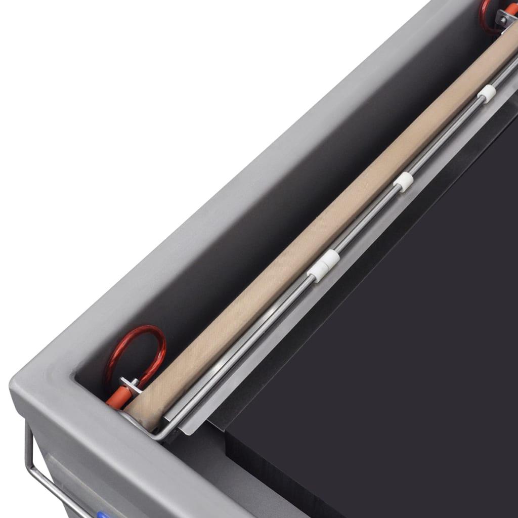 vidaXL Machine à emballer sous vide à aspiration / selleur en acier inoxydable 3