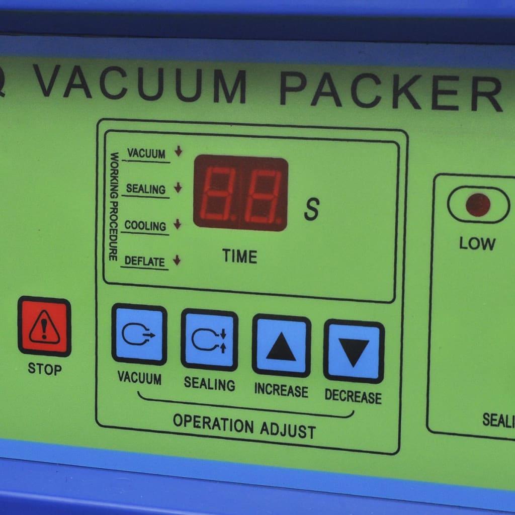 vidaXL Machine à emballer sous vide à aspiration / selleur en acier inoxydable 4