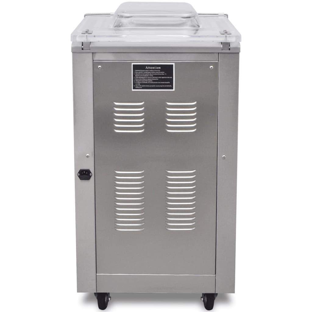 vidaXL Machine à emballer sous vide à aspiration / selleur en acier inoxydable 5