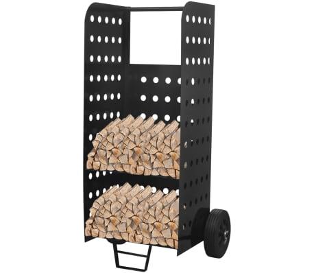 acheter chariot de bois de chauffage avec perforations. Black Bedroom Furniture Sets. Home Design Ideas