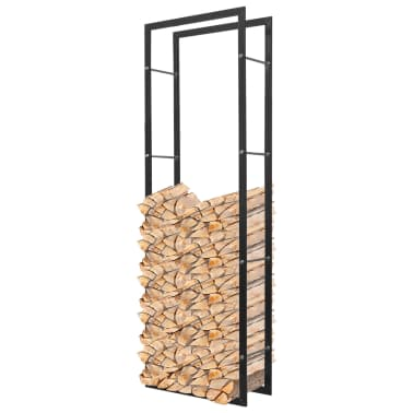 "vidaXL Firewood Rack rectangular 59.1""[1/4]"