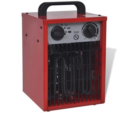 Mobiler Heizlüfter mobiler heizlüfter bauheizer elektroheizung 2 kw 100 m h günstig
