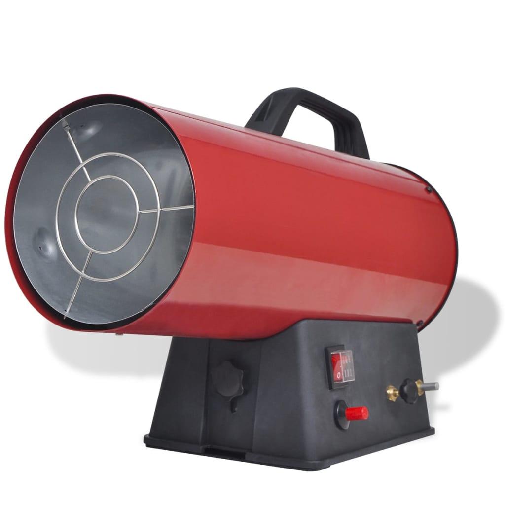 Radiator portabil cu gaz 15kW poza vidaxl.ro