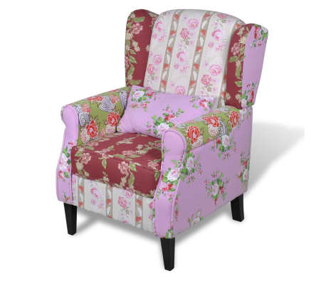 Patchwork Relax Armchair Floral Design[2/6]