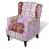 Patchwork Relax Armchair Floral Design