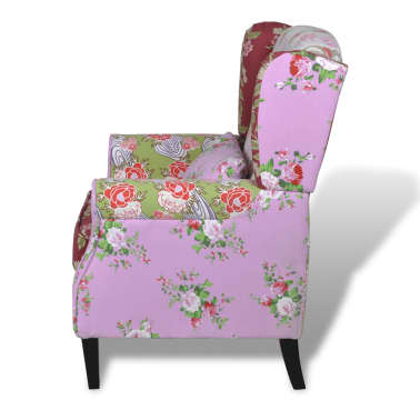 Patchwork Relax Armchair Floral Design[4/6]