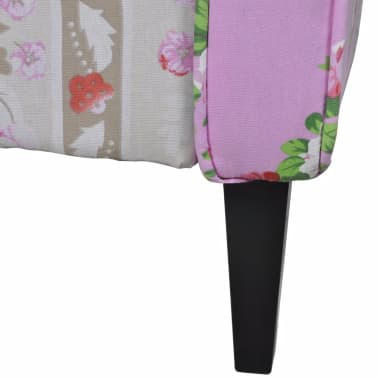 Patchwork Relax Armchair Floral Design[5/6]