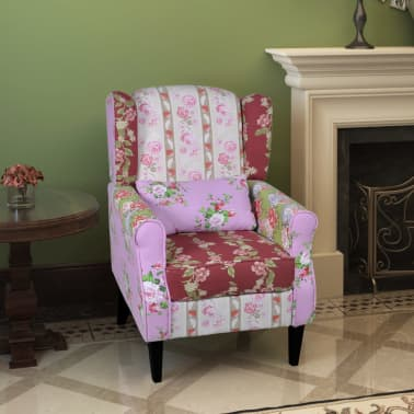 Patchwork Relax Armchair Floral Design[1/6]