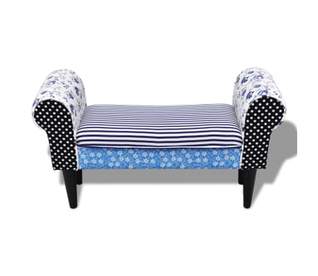 Patchwork Bench Country Living Style[3/5]