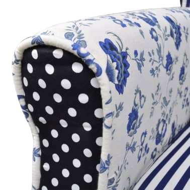 Patchwork Relax Armchair Country Living Style[4/6]