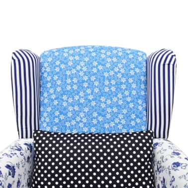 Patchwork Relax Armchair Country Living Style[5/6]