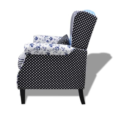 Patchwork Relax Armchair Country Living Style[6/6]