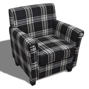 Sofa Chair Armchair Fabric Black Seat Cushion[2/5]