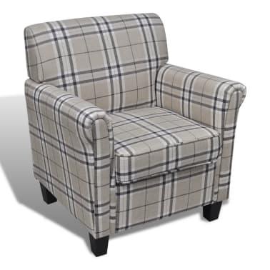 Sofa Chair Armchair Fabric Cream Seat Cushion[2/5]