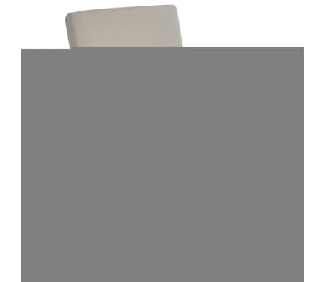 Cream Foldable Massage Recliner Artificial Leather[1/6]