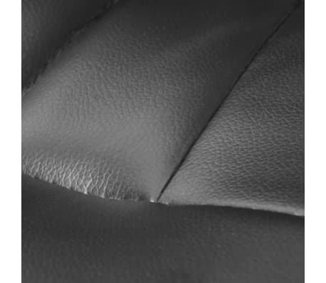 Luxury Office Chair Height Adjustable Swivel Seat Black[5/5]