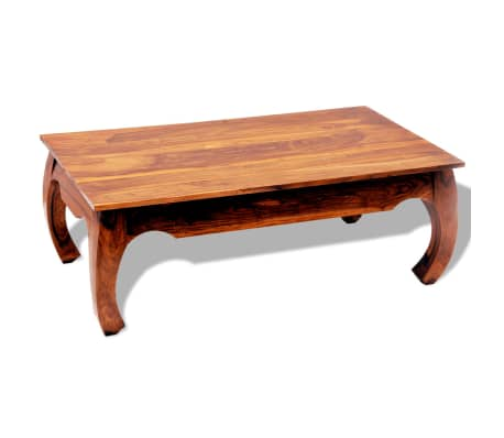 vidaXL Kavos staliukas, 40 cm, masyvi akacijos mediena[1/8]