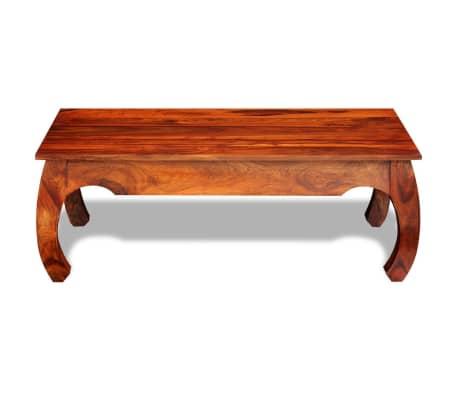 vidaXL Kavos staliukas, 40 cm, masyvi akacijos mediena[2/8]