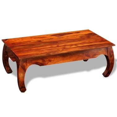 vidaXL Kavos staliukas, 40 cm, masyvi akacijos mediena[5/8]