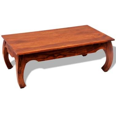 vidaXL Kavos staliukas, 40 cm, masyvi akacijos mediena[6/8]