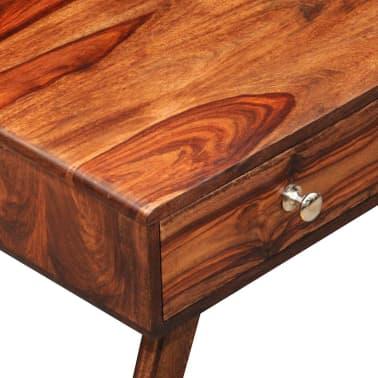 Bufet comodă TV cu 2 sertare, lemn masiv de sheesham, vintage, 40 cm[3/9]