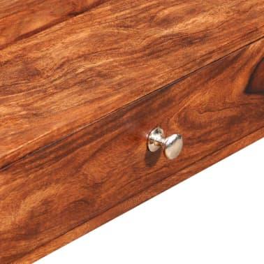 vidaXL Măsuță de cafea cu 4 sertare, 35 cm, lemn masiv de sheesham[6/11]