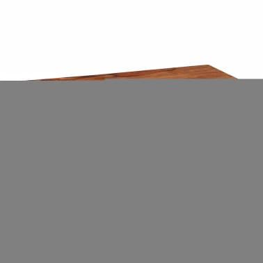 vidaXL Măsuță de cafea cu 4 sertare, 35 cm, lemn masiv de sheesham[7/11]